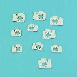 Sada mini fotoaparátů - 10ks chipboards