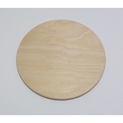 Dřevěná destička kruh 20cm