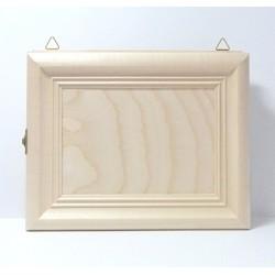 Skříňka na klíče - obraz na šířku (otvírání zleva)