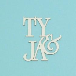 Ty&Já - 1ks chipboards