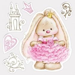 Transp.razítka - Bunny princezna