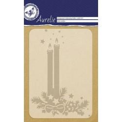 Embossovací kapsa - vánoční svíčky