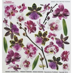 Sospeso fólie 24x24 - orchid fuchsia