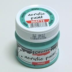Akrylová barva Pentart 50ml - mátová, matná