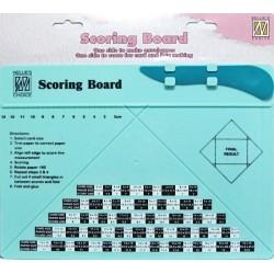 Rýhovací deska na výrobu obálek a krabiček Nellie´s Choice