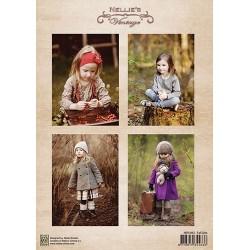 Nellie Vintage A4 - děvčátka v podzimním čase