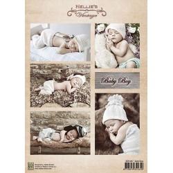Nellie Vintage A4 - malí chlapci