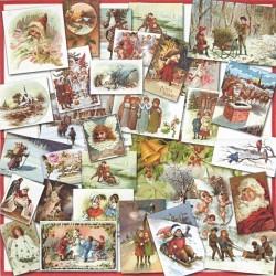 Nostalgic Christmas 33x33