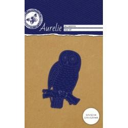 Vyřezávací šablona Aurelie - velká sova