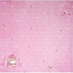 Pretty In Pink, My Little Star, oboustranný 30,5x30,5cm