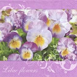 Lilac Flowers 33x33