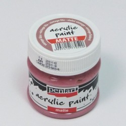 Akrylová barva Pentart 50ml - vintage lila, matná