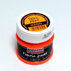 NEON textil - oranžová 50ml