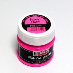 NEON textil - růžová 50ml