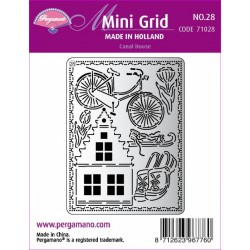 Mřížka Mini grid č.28 - Canal House