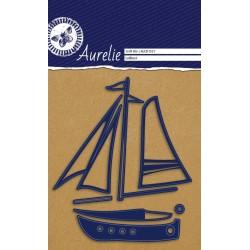 Vyřezávací šablony Aurelie - Jachta, 7ks
