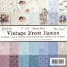 Sada papírů Vintage Frost Basics 15x15 (MD)