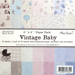 Sada papírů Vintage Baby 15x15 (MD)