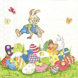 Zajíček maluje vajíčka 25x25