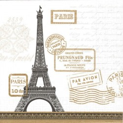 Paris Randezvous white 33x33