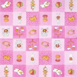 Hračky v růžové 33x33