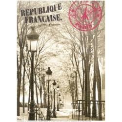 Reprodukce obrazu 18x24 Paris, Rue Foyatier