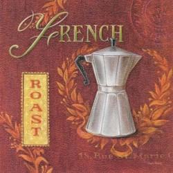 Reprodukce obrazu 18x18 - French Roast