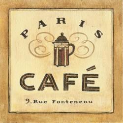 Reprodukce obrazu 18x18 - Paris Café