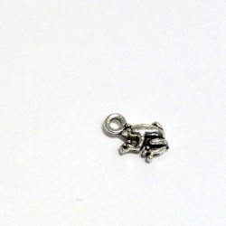 Přívěsek žabka 0,8cm starostříbro