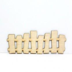 Dřevěný plůtek