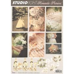 Papír 3D a kartičky - Svatební, vel.A4 (SL)