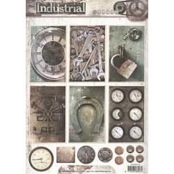 Papír A4 Industrial, visací zámek (SL)