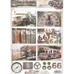 Papír A4 Industrial, volant (SL)