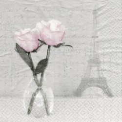 Paris Rose 33x33