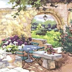 Ráno v Provence 33x33