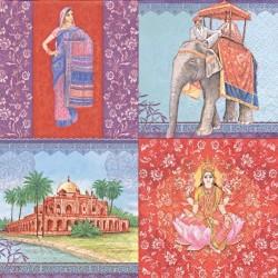 Indické motivy 33x33