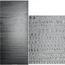 Kontury Písmena I. stříbro