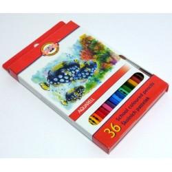 Pastelky akvarelové 36ks