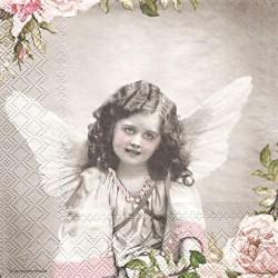 Anděl a růže 33x33