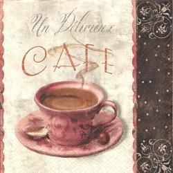 Un Délicieux Cafe 33x33
