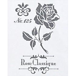 Šablona - Rose Classique, vel. A4