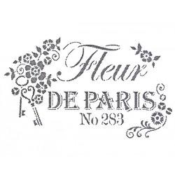 Šablona - Fleur de Paris, vel. A4