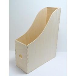 Dřevěný obal na pořadač