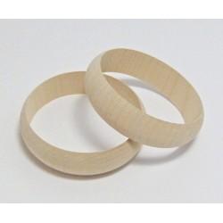 Dřevěný náramek 2cm