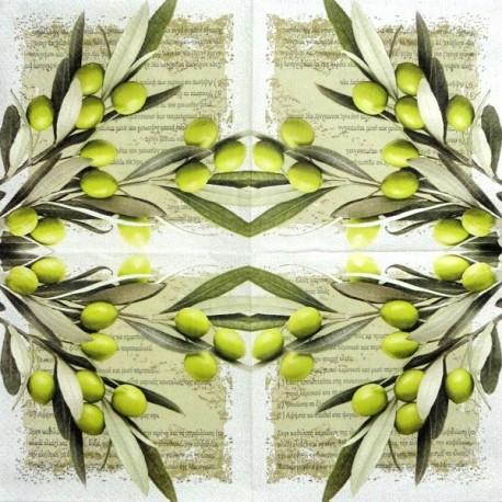 Řecké olivy 33x33