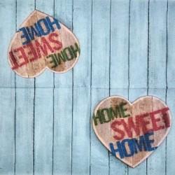 Srdce Home Sweet Home 33x33