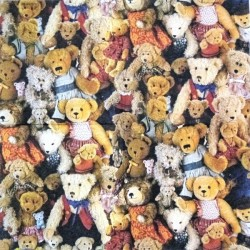 Teddy Bears 33x33