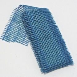Stuha juta 5cmx2m modrá
