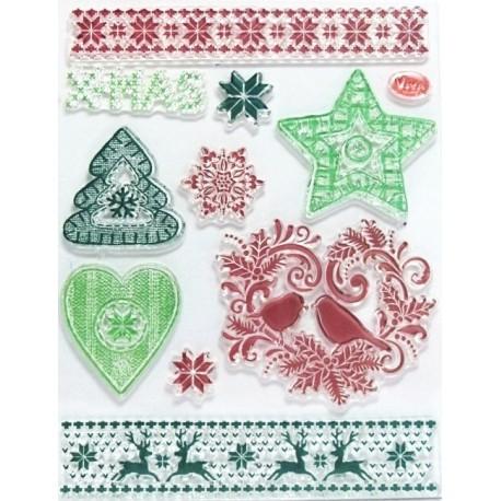 Transp.razítka D146 Vánoční motivy II.