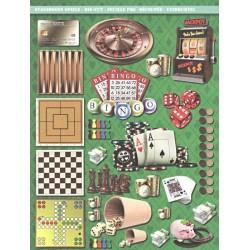 Papírové výseky - Hazardní hry